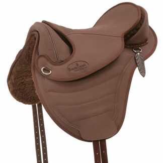 artificial leather saddle