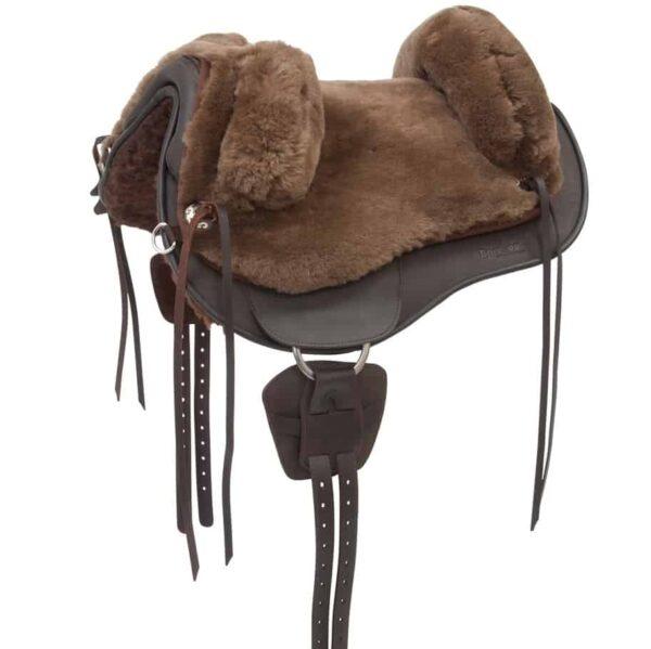 fur saddle