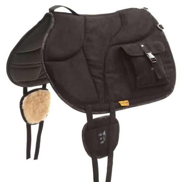 riding pad with bags