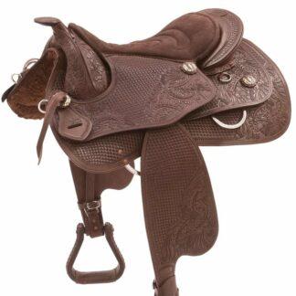 custom western saddle