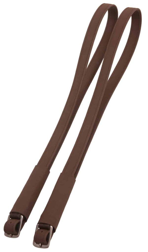 artificial stirrup leathers