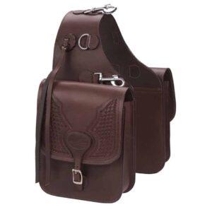 leather saddle bags