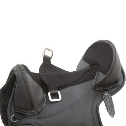stirrup leather attachment