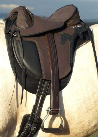 western stirrup leathers