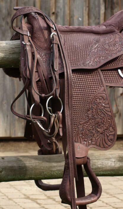 open reins